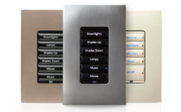 Lighting Control:   by Integrated Home and Office