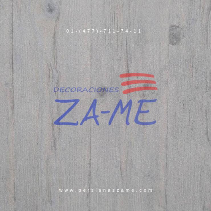 Paredes y suelos de estilo  por Decoraciones ZA-ME
