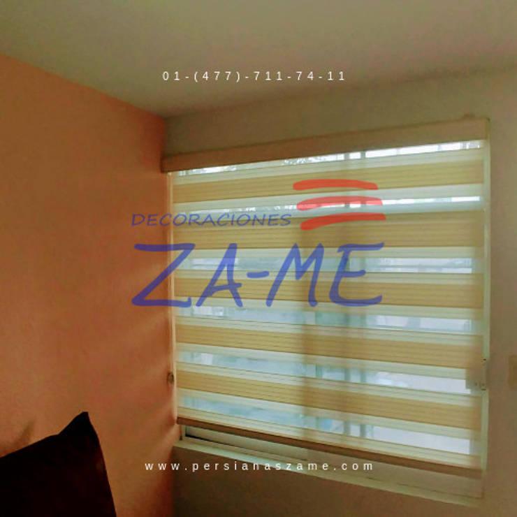 Puertas y ventanas de estilo  por Decoraciones ZA-ME,
