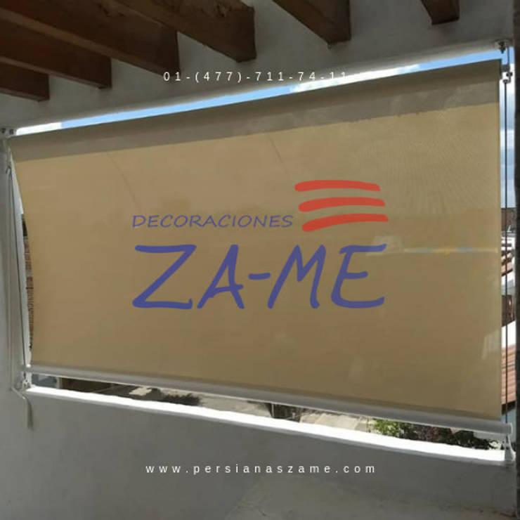 Puertas y ventanas de estilo  por Decoraciones ZA-ME