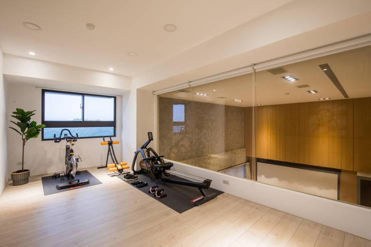 Ruang Fitness oleh 解構室內設計