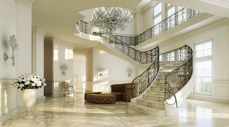 4. Một số ứng dụng thực tế đẹp ốp cầu thang bằng đá Marble:  Artwork by Công ty TNHH truyền thông nối việt