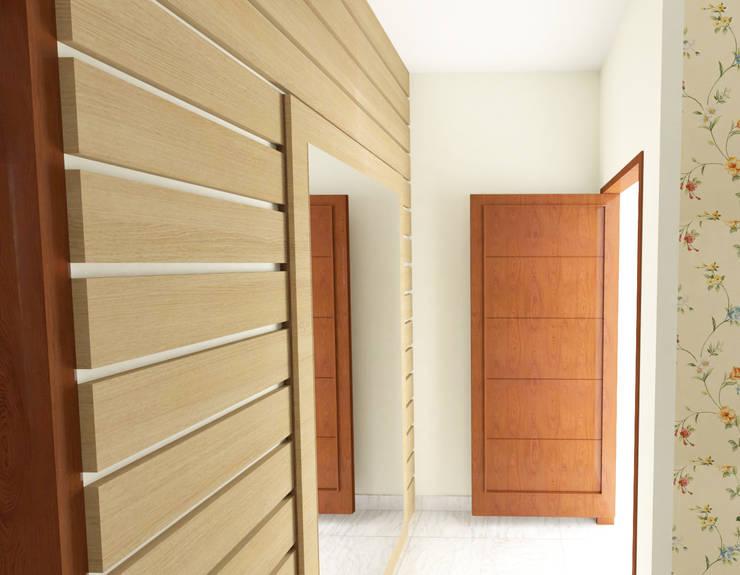 Corridor & hallway by SSDecor, Modern