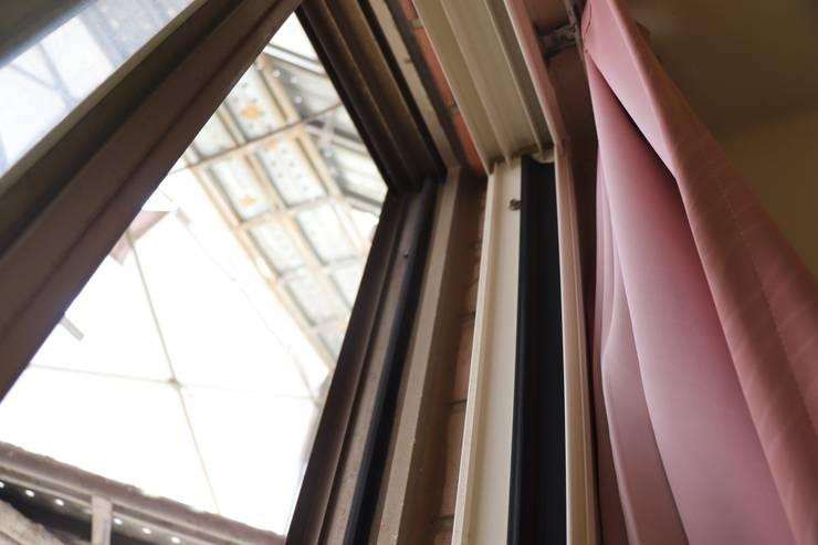 舊窗是以兩扇氣密窗強化:   by 鵝牌氣密窗-台中直營店