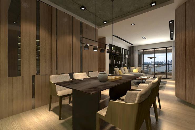 餐廳:  餐廳 by 青易國際設計