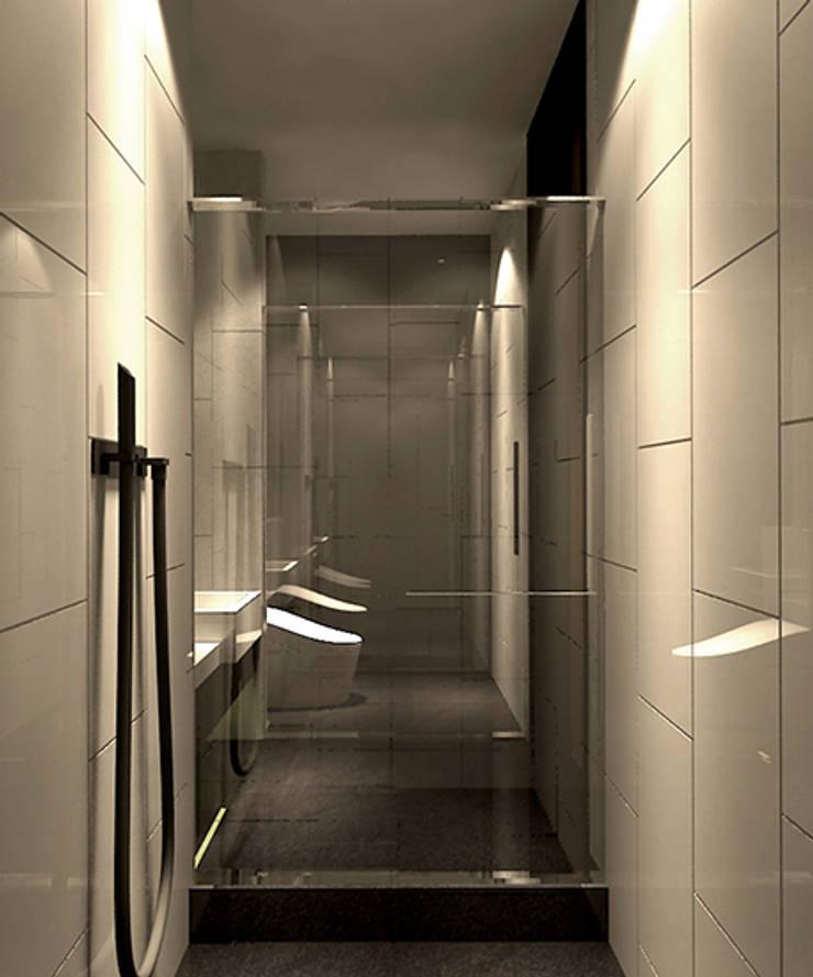 客衛:  浴室 by 青易國際設計