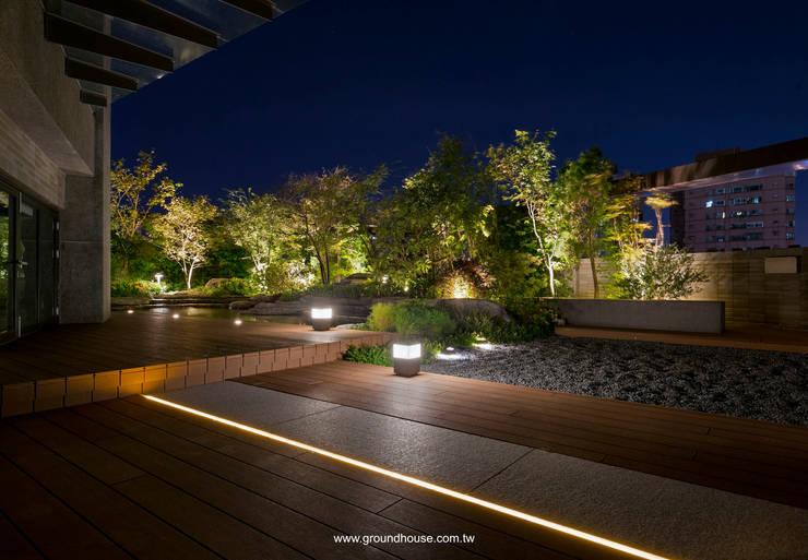 夜景07:  辦公大樓 by 大地工房景觀公司