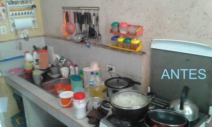Cocina Antes de Remodelación: Cocinas de estilo  por Inter Designer,