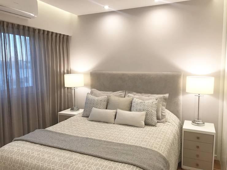 Departamento Palermo: Dormitorios pequeños de estilo  por Estudio Nicolas Pierry,