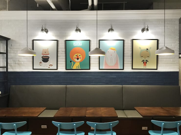 KIDS CAFE: 감자디자인의  아이방,