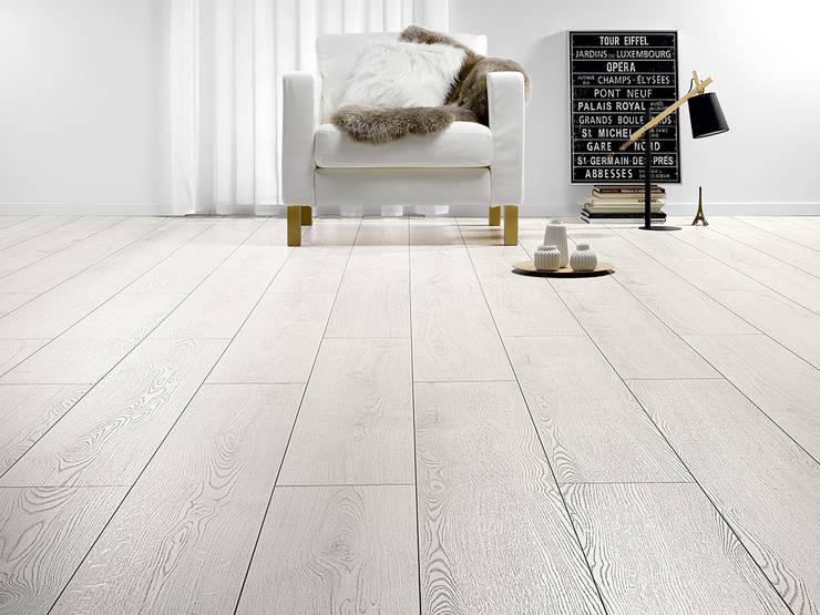 Sàn gỗ Alsa 301 :  Walls & flooring by Công ty Sàn Đẹp