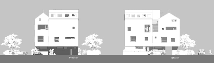 이웃건물을 고려한 열어둘 수 있는 창 만들기-1: SPACEPRIME ARCHITECTURE의  ,