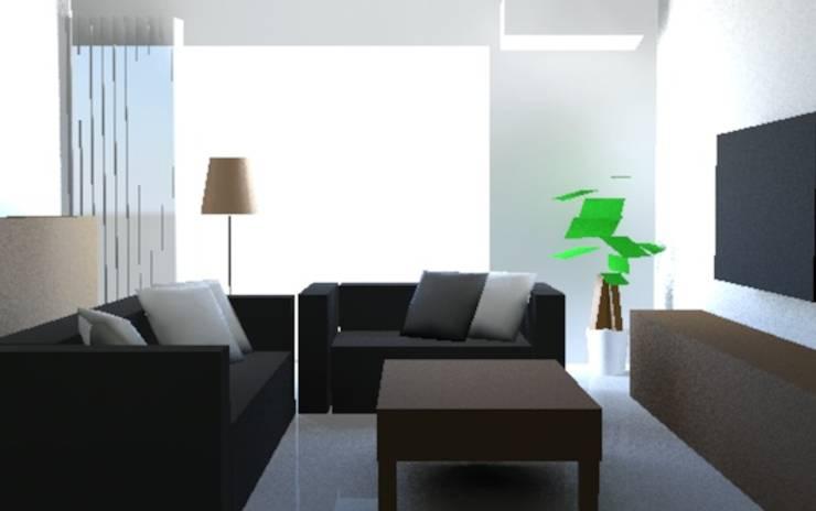 IKEA室內設計:  客廳 by 天空設計