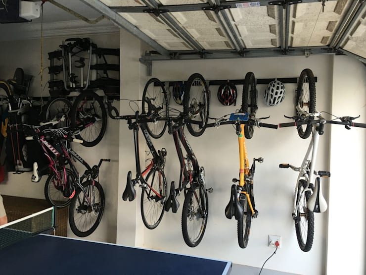 Garage Wall Storage Ideas:  Gym by MyGarage