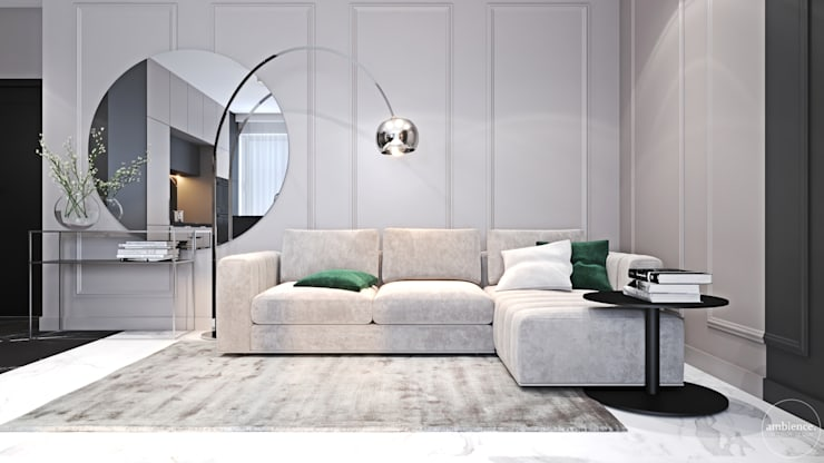 Living room by Ambience. Interior Design, Modern