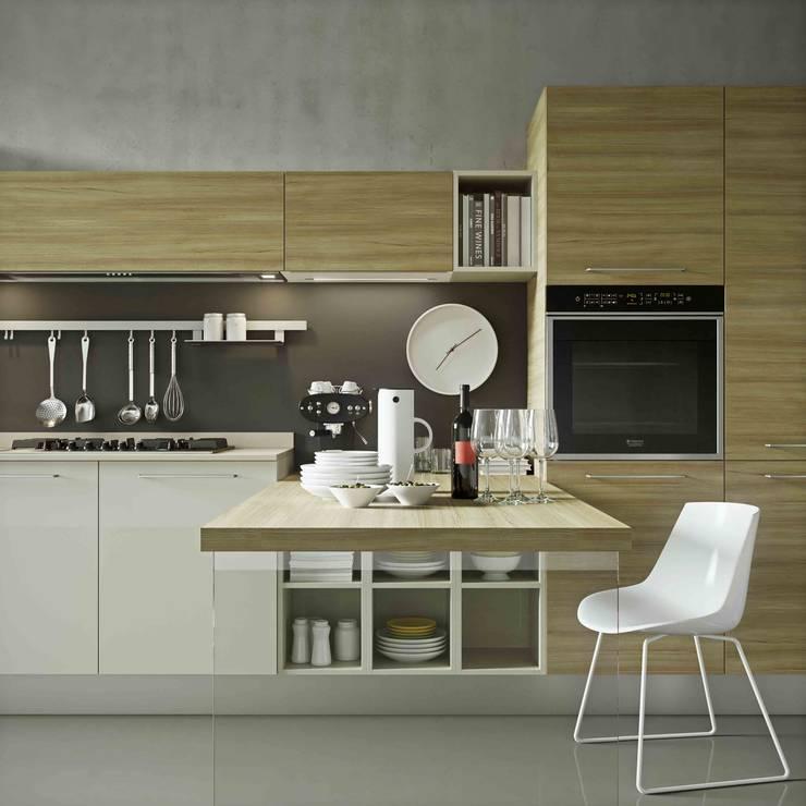 de estilo  por Disarteco, Moderno Derivados de madera Transparente