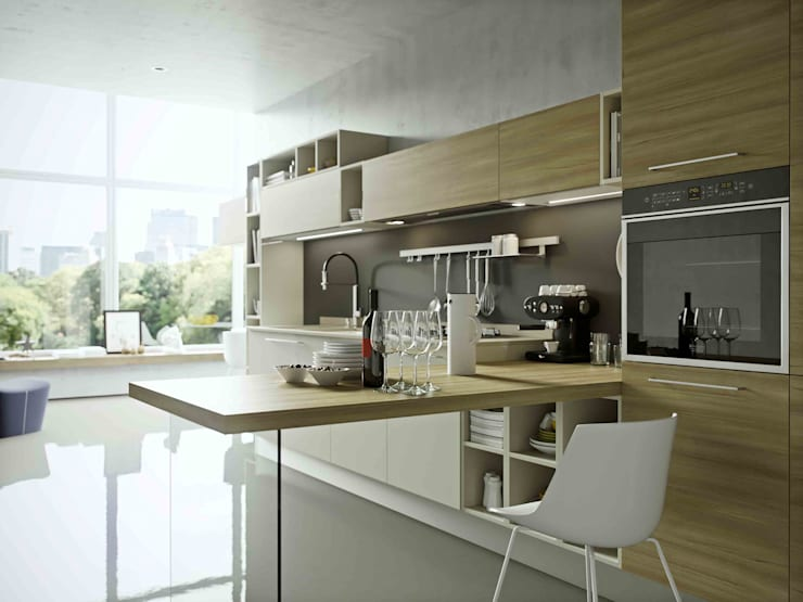 Kitchen units by Disarteco, Modern Quartz