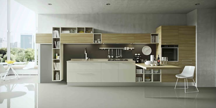 Built-in kitchens by Disarteco, Modern