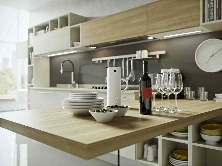 COCINAS: Cocina de estilo  por Disarteco