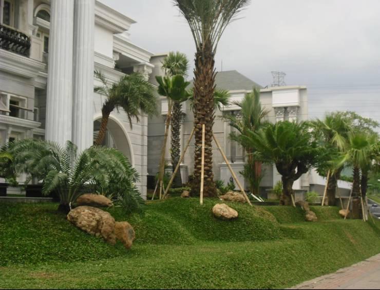 Spesialis Tukang Taman Semarang: Halaman depan oleh Tukang Taman Surabaya - Tianggadha-art, Mediteran Batu