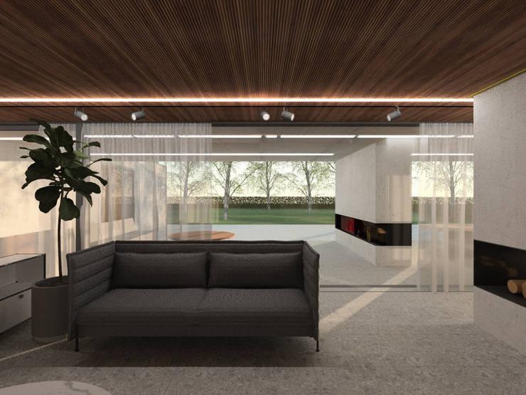 160_Casa Singola: Cantina in stile  di MIDE architetti