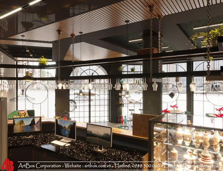 Thiết kế kiến trúc nội thất quán cafe:  Artwork by Thiết Kế Nội Thất - ARTBOX