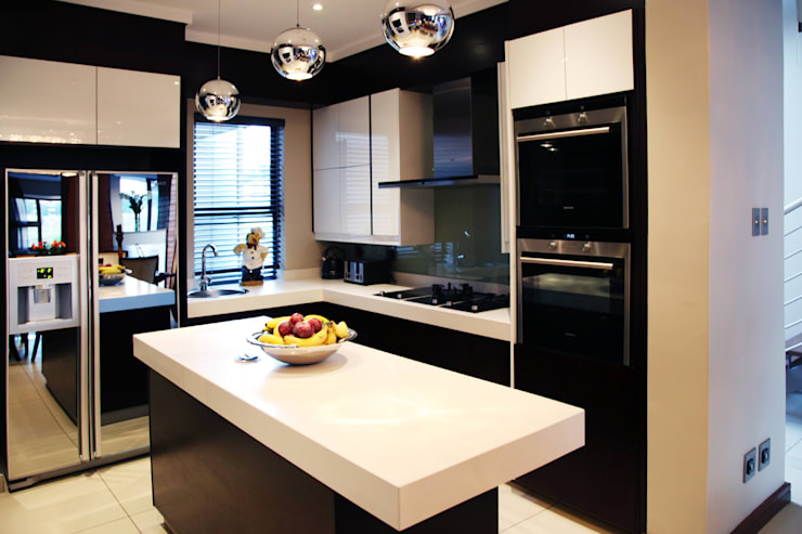 Built-in kitchens by Plan Créatif, Modern