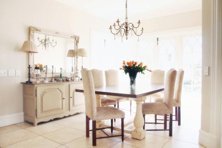 Saddlebrook Estate:  Dining room by Plan Créatif