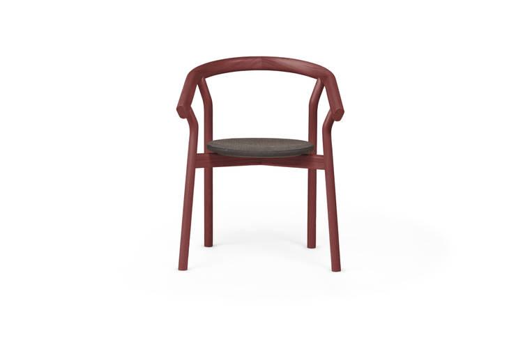 DORA chair - Luxury Red : Casa  por DAM