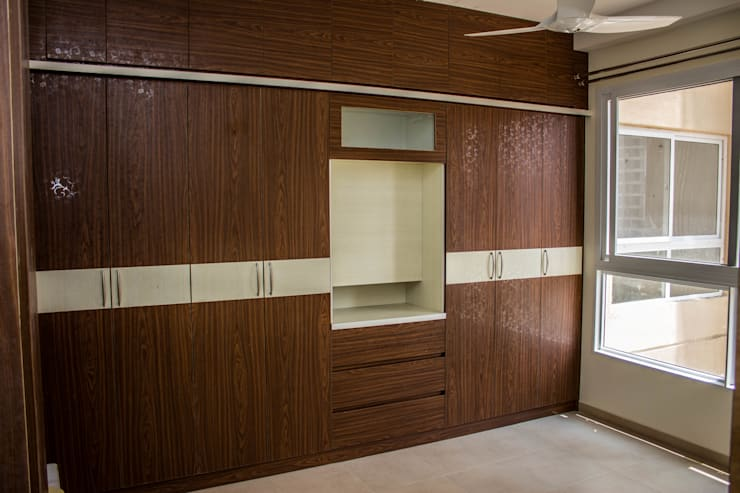 Small bedroom by SSDecor, Modern Engineered Wood Transparent