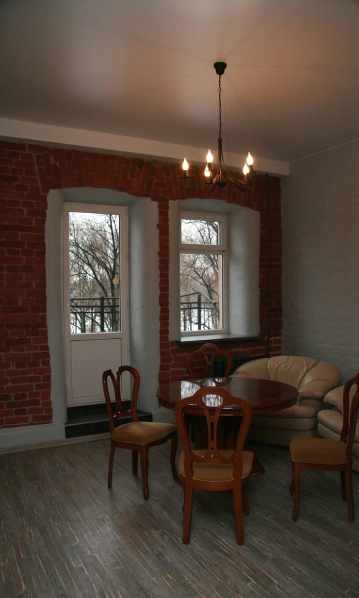 Кухня в стиле Лофт:  Dining room by Елена Колембет