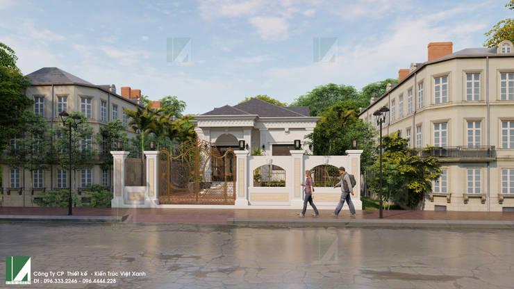 BIỆT THỰ 01 TẦNG –  TIÊN LÃNG – HẢI PHÒNG:   by công ty cổ phần Thiết kế Kiến trúc Việt Xanh