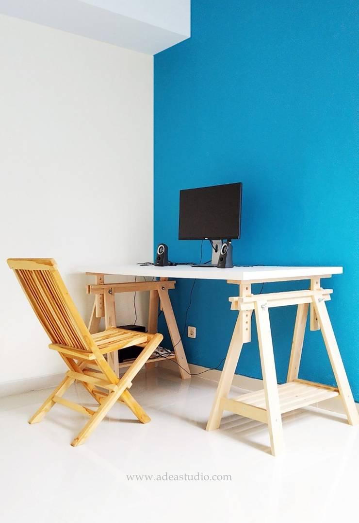 Study Room:  Ruang Kerja by ADEA Studio