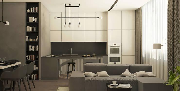 Kitchen by Yurov Interiors, Minimalist