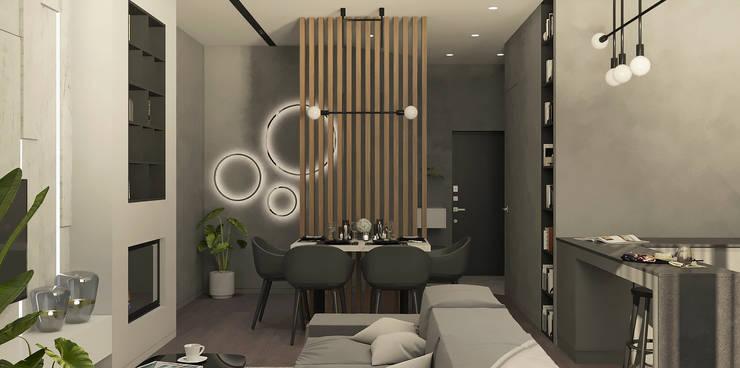 Dining room by Yurov Interiors, Minimalist