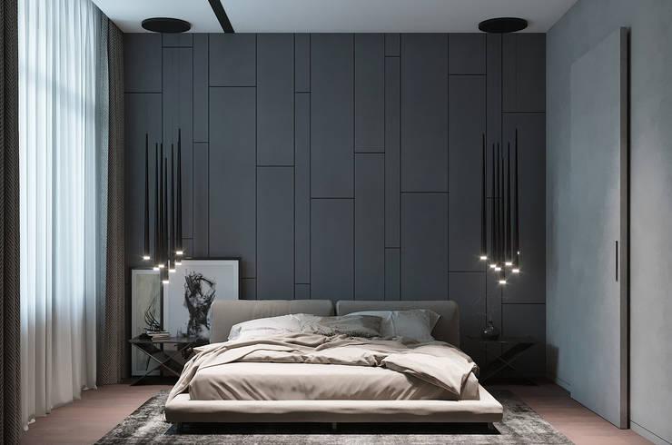 Рублевское предместье: Спальни в . Автор – Yurov Interiors,
