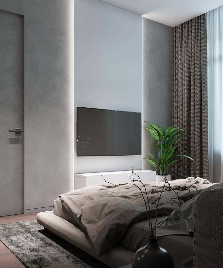 Bedroom by Yurov Interiors, Minimalist