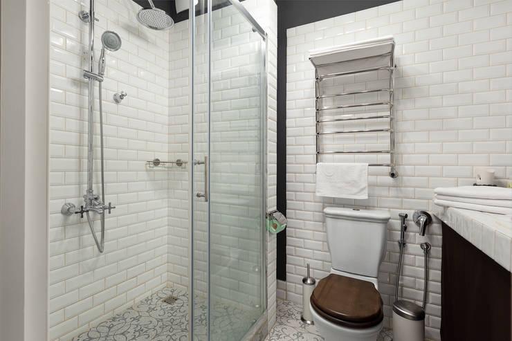 Квартира в скандинавском стиле: Ванные комнаты в . Автор – Tatiana Nikitina Photography