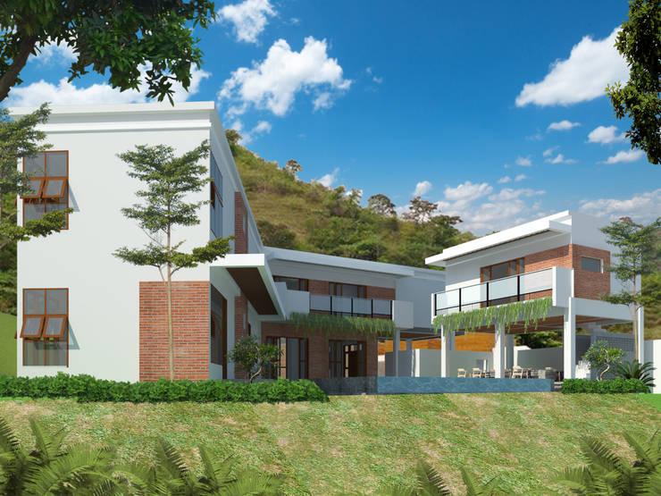 eksterior belakang villa mahabali:   by epicnesia