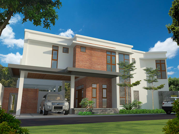 eksterior depan villa mahabali:   by epicnesia