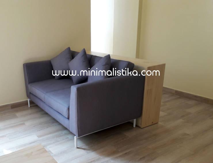 Salas de estilo  por Minimalistika.com