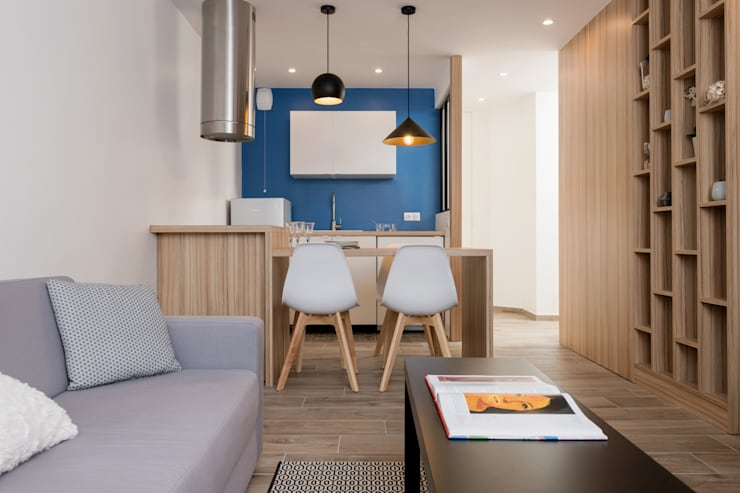 Chez Sophie et Philippe: Salon de style  par Camille BASSE, Architecte d'intérieur,