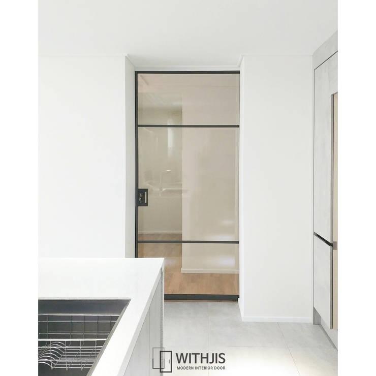 ALU-SD, 1SD(슬라이딩도어1): WITHJIS(위드지스)의  유리 문,