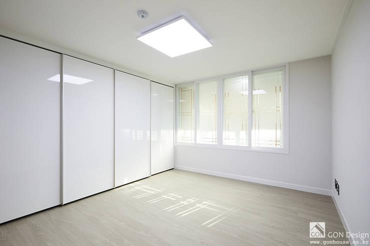 안방인테리어: 곤디자인 (GON Design)의  방,모던