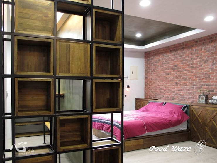 2樓女兒房 根據 台中室內設計裝修|心之所向設計美學工作室 隨意取材風
