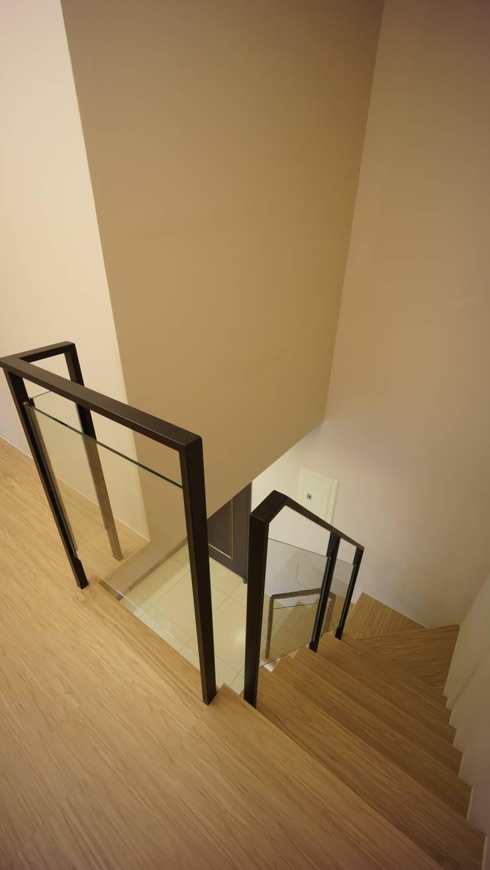樓梯:  樓梯 by 璞玥室內裝修有限公司