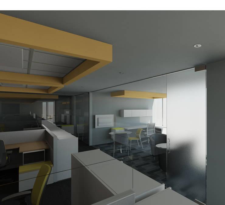辦公室&店面 by Arquitecto Rafael Balbi , 現代風
