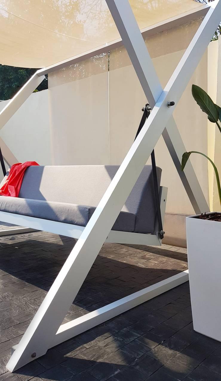 HAMACA: Jardines de estilo  por MÖGEN OUTDOOR,