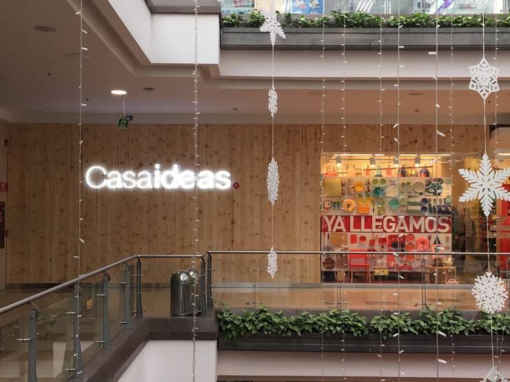 CASAIDEAS de Escarra arquitectos y asociados SAS Moderno Madera Acabado en madera
