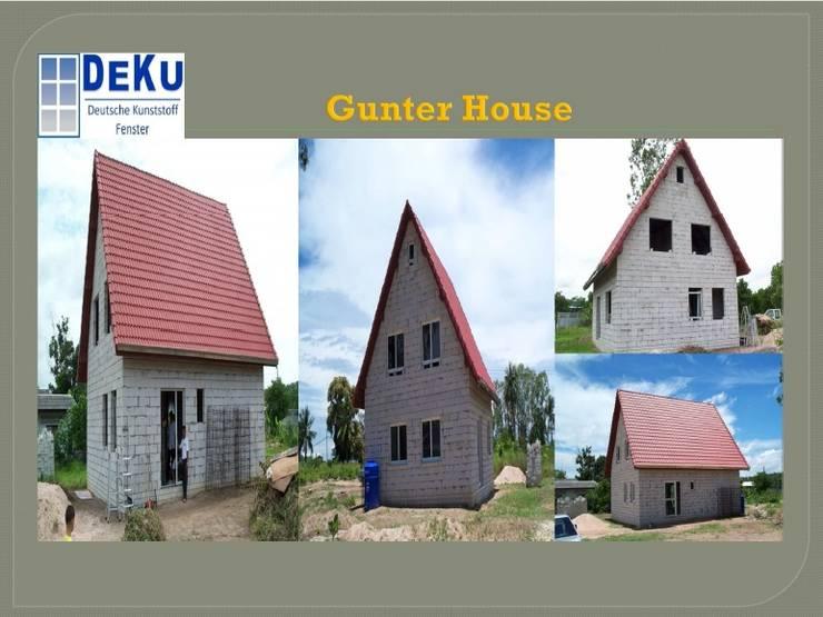 Gunter House:  อาคารสำนักงาน ร้านค้า by DeKu German Windows Co.,ltd